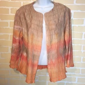 Chico's lightweight polyester jacket 4 xs 0